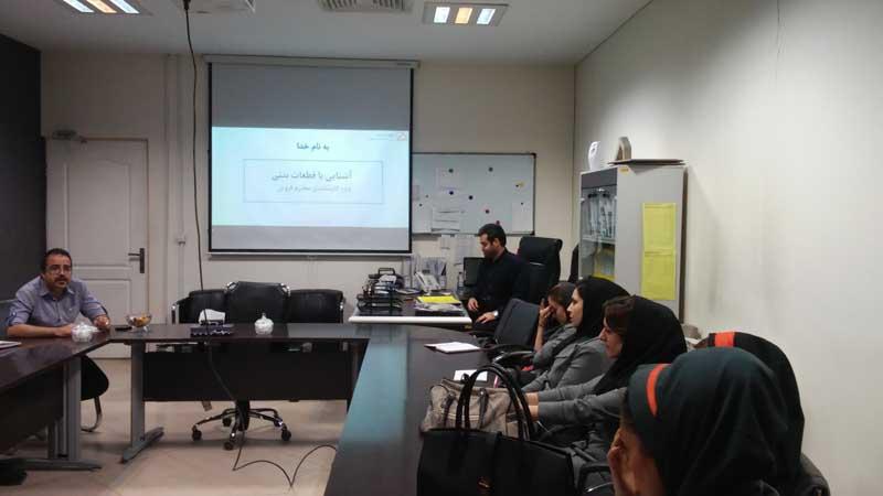 برگزاری دوره تخصصی فروش در شرکت آپتوس ایران